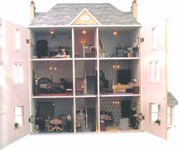 The Gables Dolls House Cheap Dolls Houses 116 00 For Sale