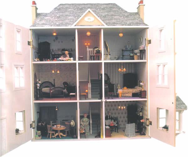 The Gables Dolls House Cheap Dolls Houses 116 00 For Sale